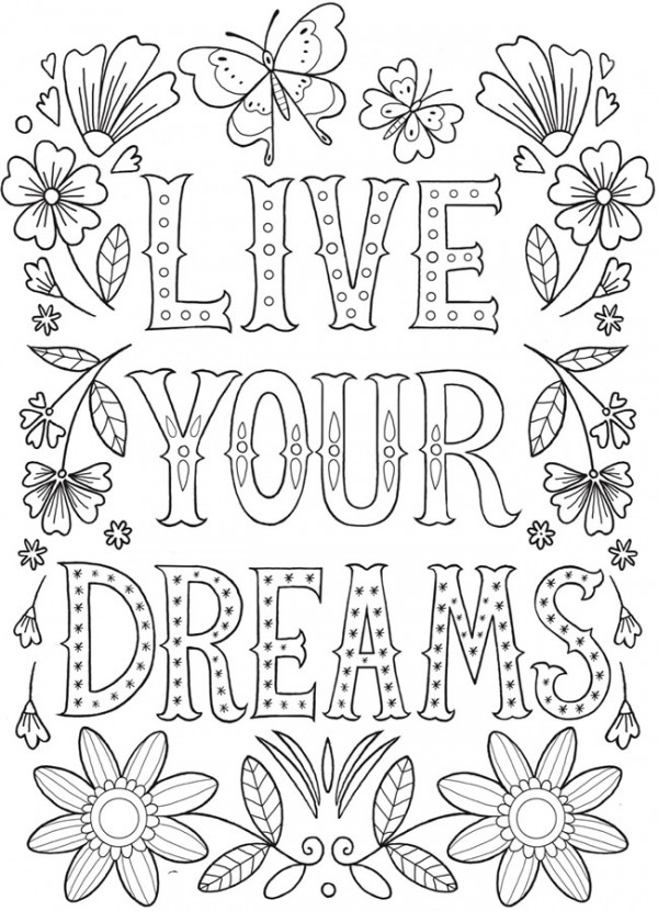 6 Express Yourself Coloring Pages - Stamping