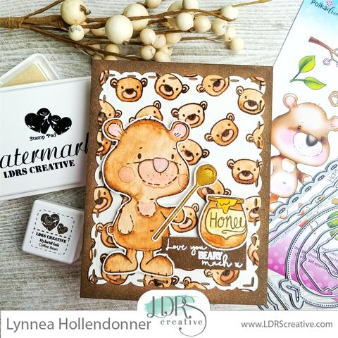 DIY Pattern Paper with Small Stamps