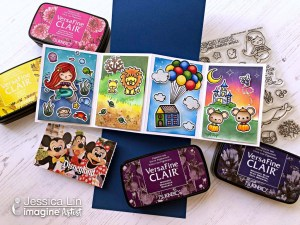 Disney Pop Up Twist Card