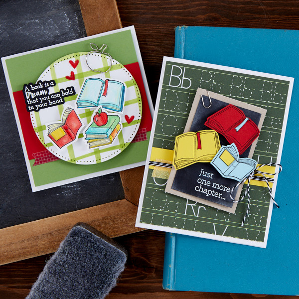 Back to School Book Cards