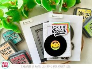 Retro Record Card