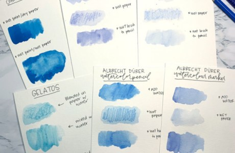 Watercolor Comparisons