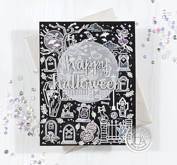 Peek a Boo Halloween Card