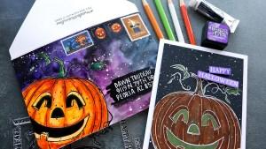 Jack O' Lantern Card and Envelope