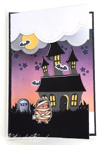 Halloween Split Card