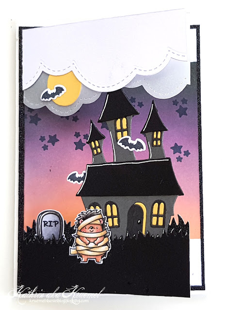 Halloween Split Card