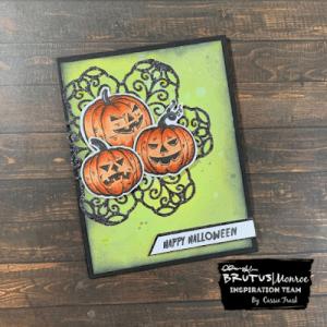 Jack O Lantern Card