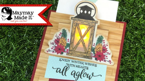 Light Up Easel Card