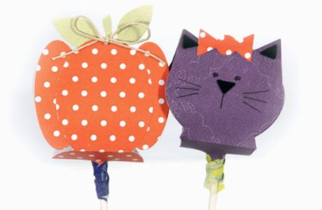 Halloween Lollipop Covers