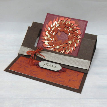 Fall Swing Easel Card
