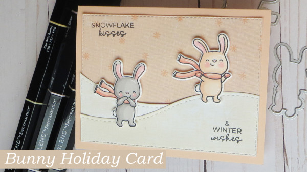 Bunny Holiday Card