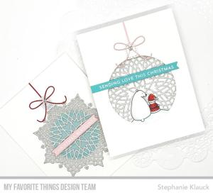 Ornament Window Cards
