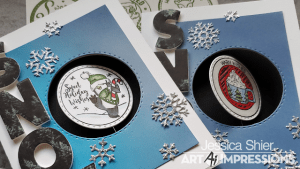 Winter Spinner Cards