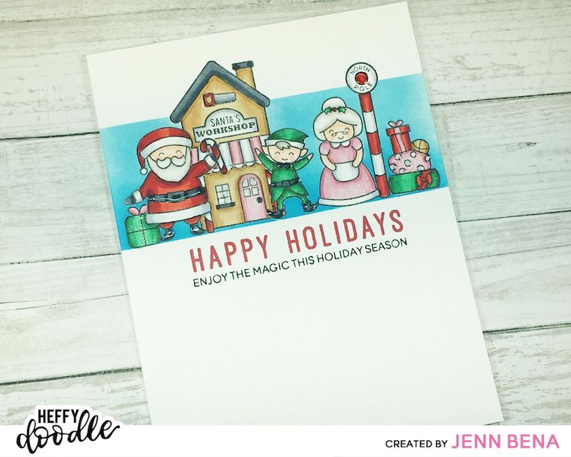 Santa's Village Card