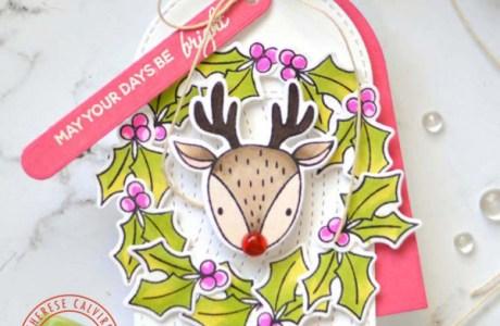 Rudolf Gift Tag