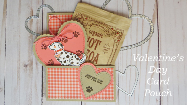 Valentine's Day Pouch Card