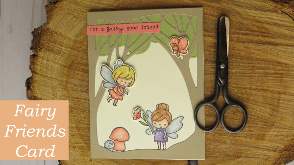 Fairy Friendship Handmade Card
