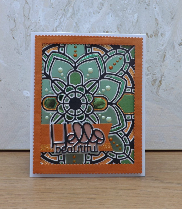 Mosaic Tile Card