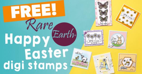 45 Easter & Spring Digital Stamps