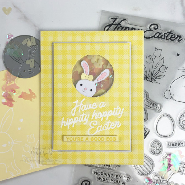 Easter Bunny Shaker Card