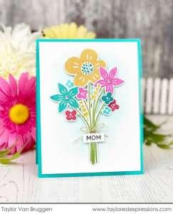 Flower Bouquet Cards