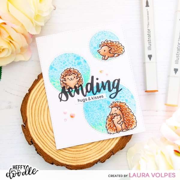 Hedgehog Hugs Card