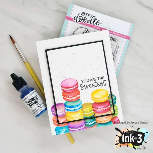 Sweet Macaron Card