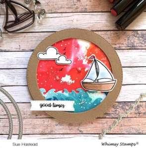 Ship Circle Card