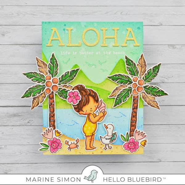 Tropical Aloha Card