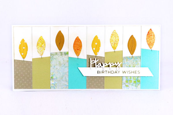 Faux Quilting Birthday Card