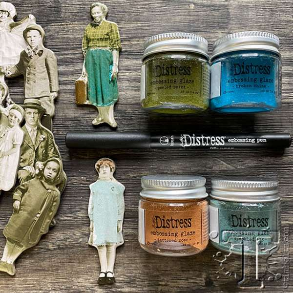 Product Review: Distress Embossing Glaze