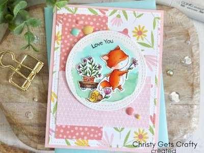 Friendship Fox Card