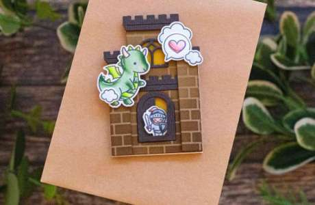 Mini Castle Shaped Card