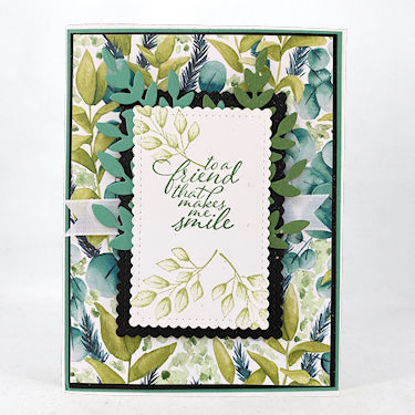 Side Fold Flap Card