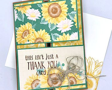 Double Panel Gate Fold Card