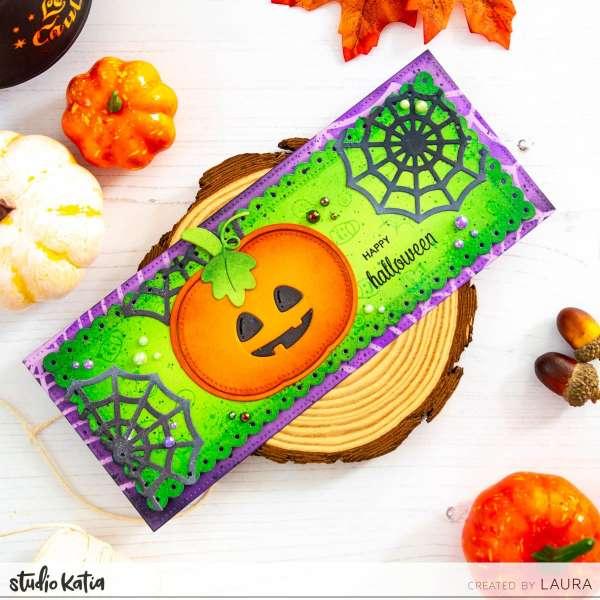 Halloween Slimline Card