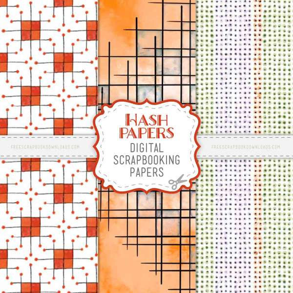 Fall Pattern Papers Download