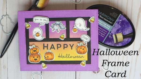 Halloween Frame Card