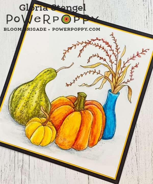 Autumn Still Life Card