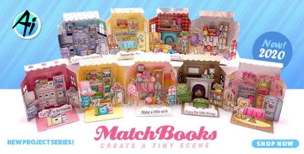 Matchbook Scene Cards