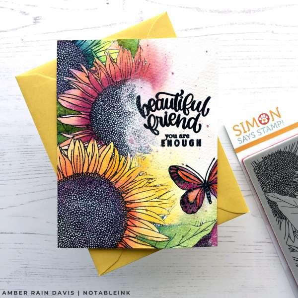 Autumn Sunflower Card