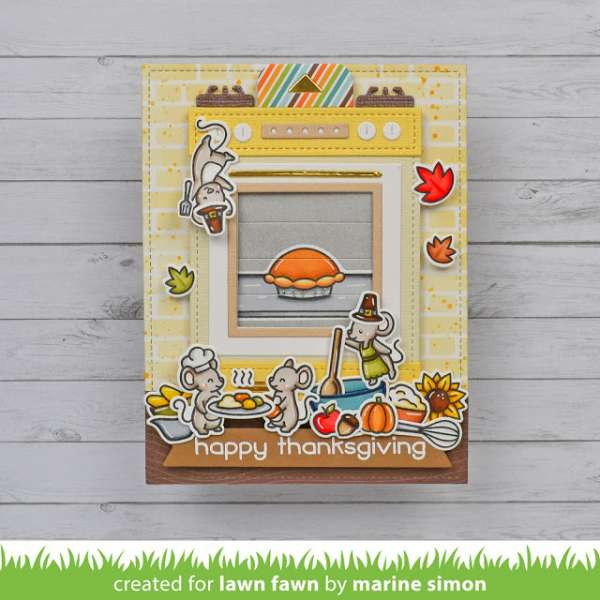 Thanksgiving Oven Card