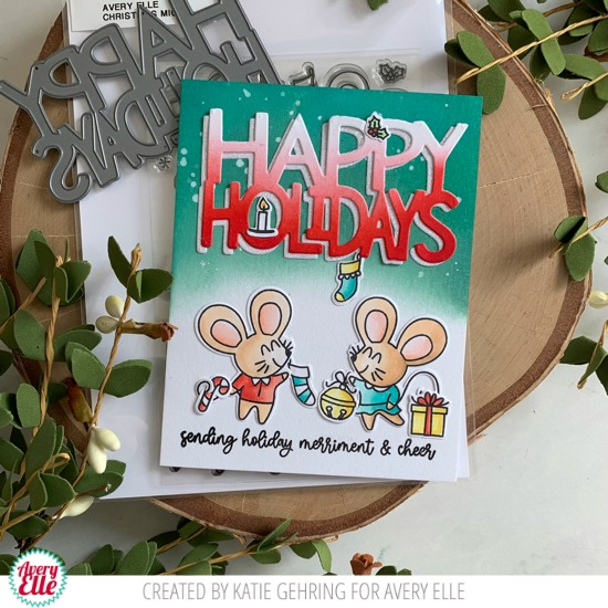 Christmas Mice Card