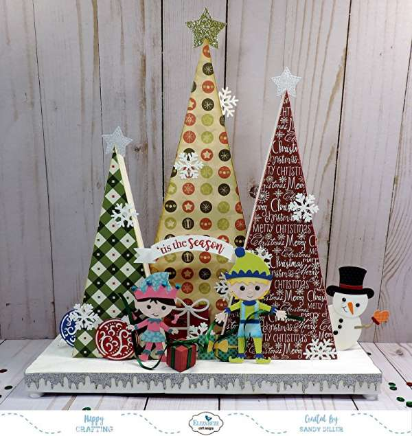 3D Paper Craft Christmas Display