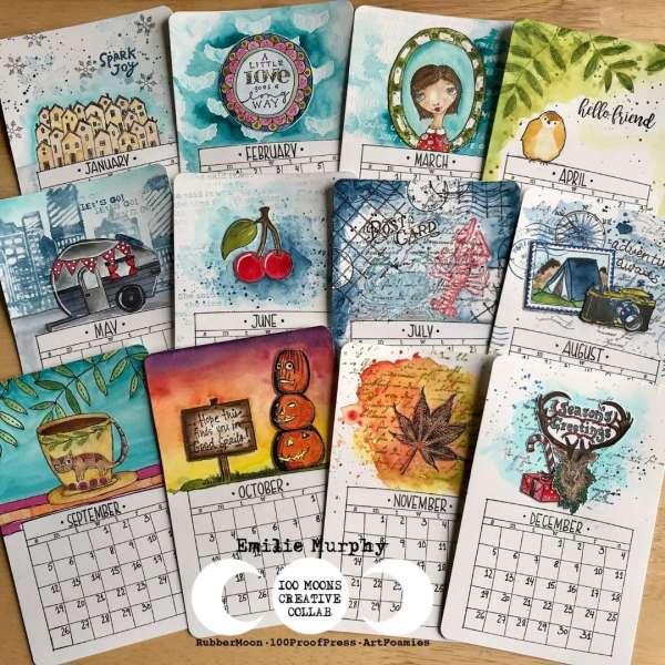 Artsy Calendar in a Box