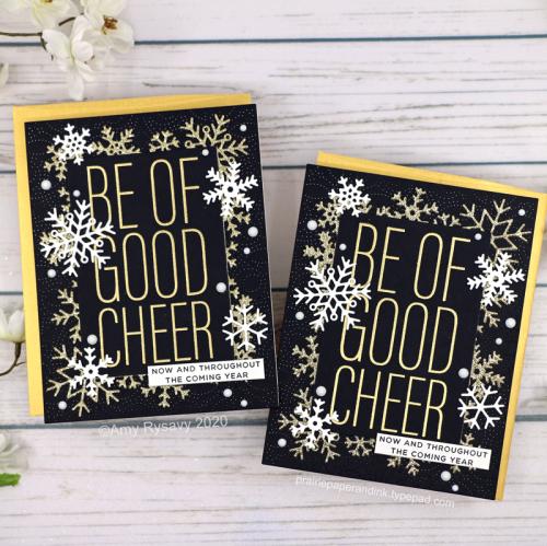 Elegant Snowflake Cards