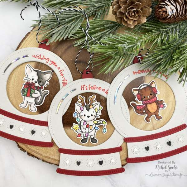 Christmas Cat Tags
