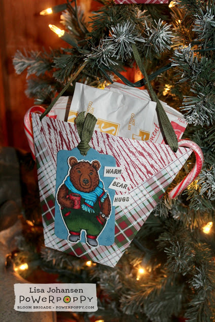 Paper Christmas Pouch