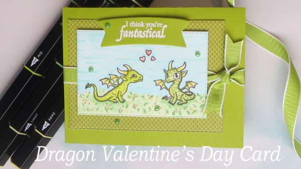 Dragon Valentine's Day Card