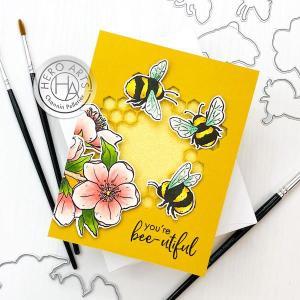 Interactive Bee Card